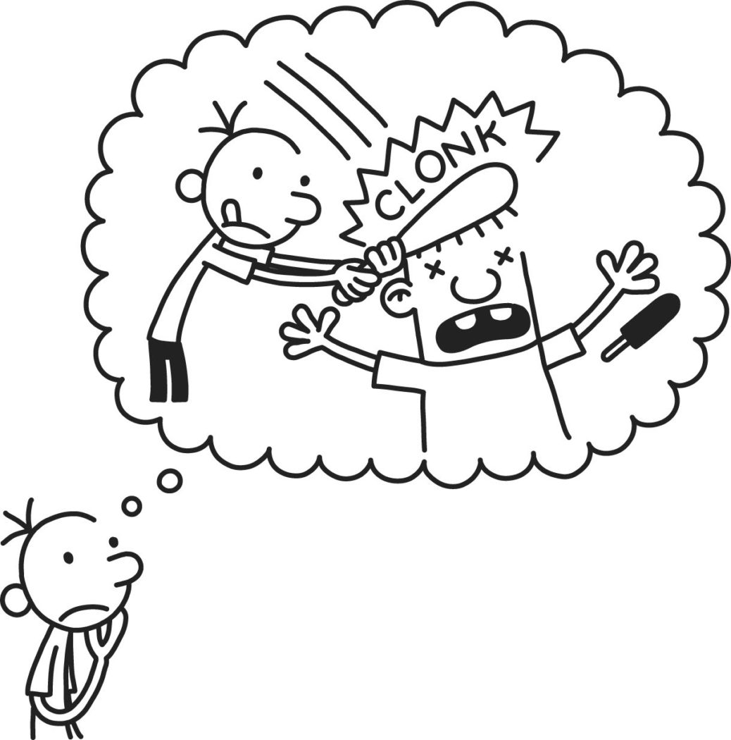 1038x1050 Diary Wimpy Kid Coloring Pages Print Home Books Book Preschool