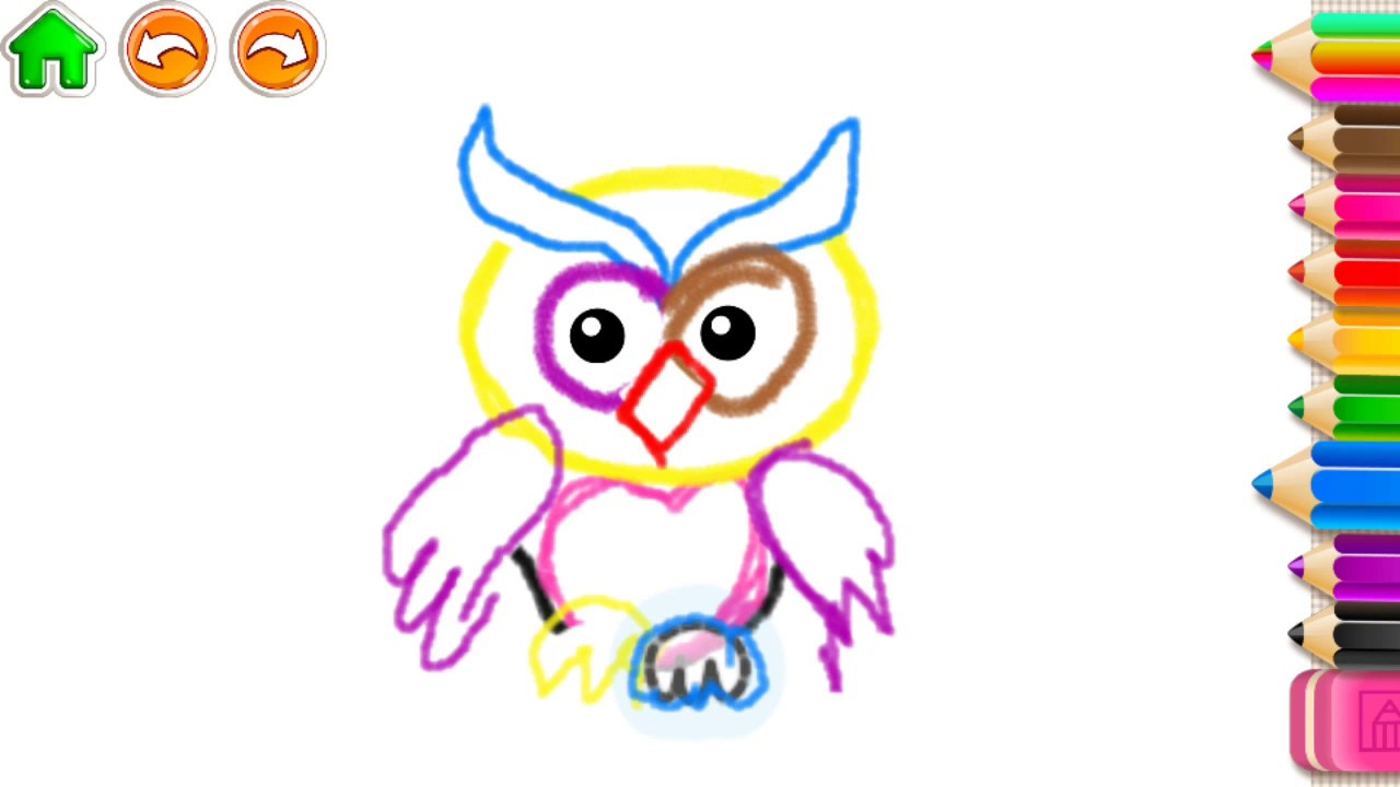 1280x720 Kids Learn Abc Draw