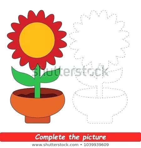 450x470 Kids Flower Drawing