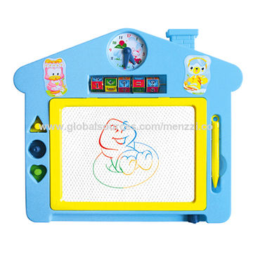 360x360 China Drawing Board With Tools, Preschool Magnetic Writing Board