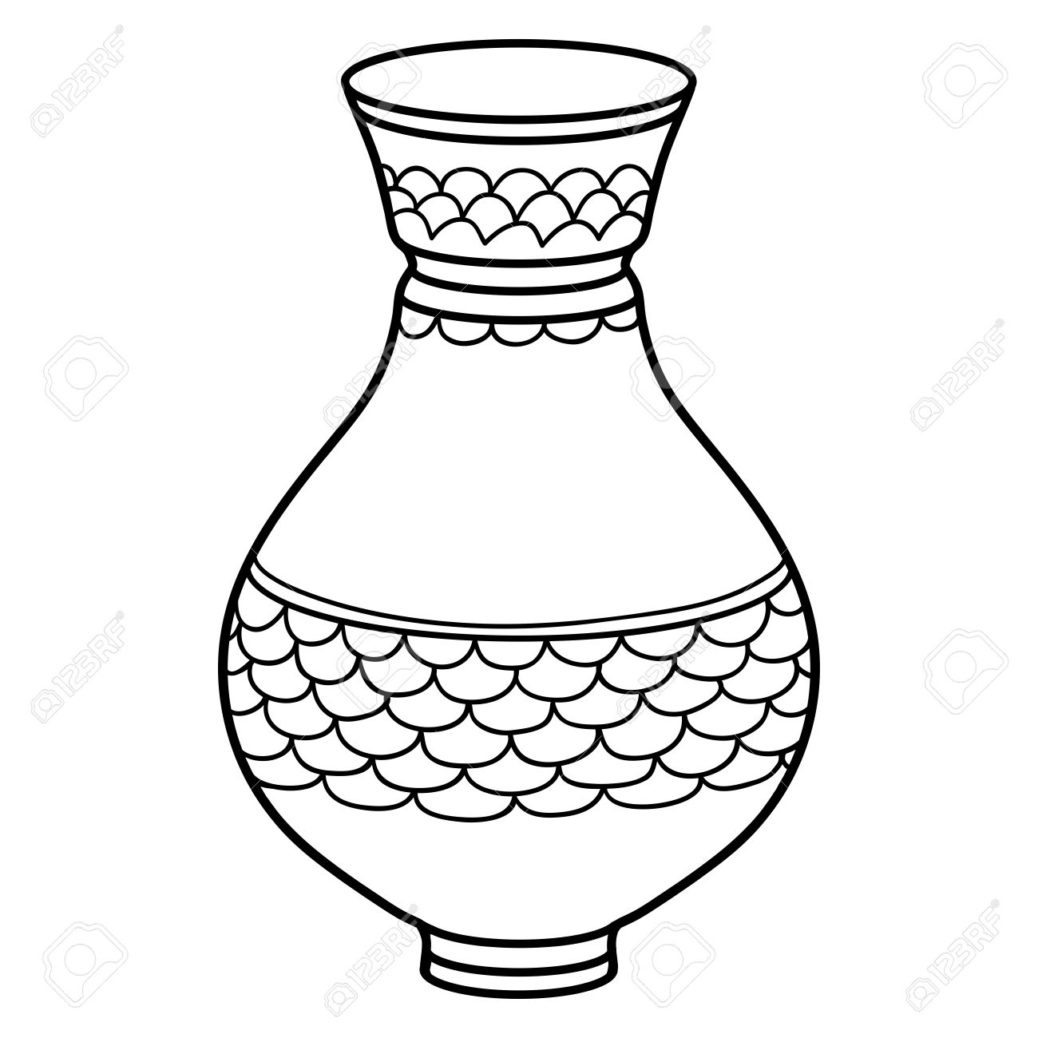 1038x1038 Glass Juice Line Drawn Vector Hand Sketch Isolated Black Coloring