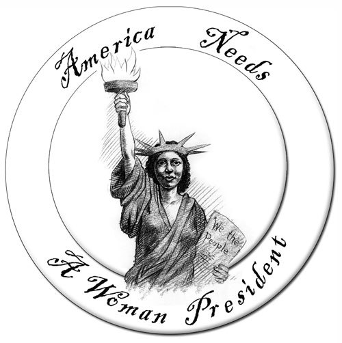 500x502 America Needs A Woman President Brett Bevell