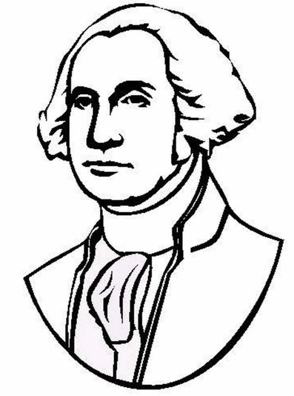 600x808 President Drawing Portrait George Washington For Free Download