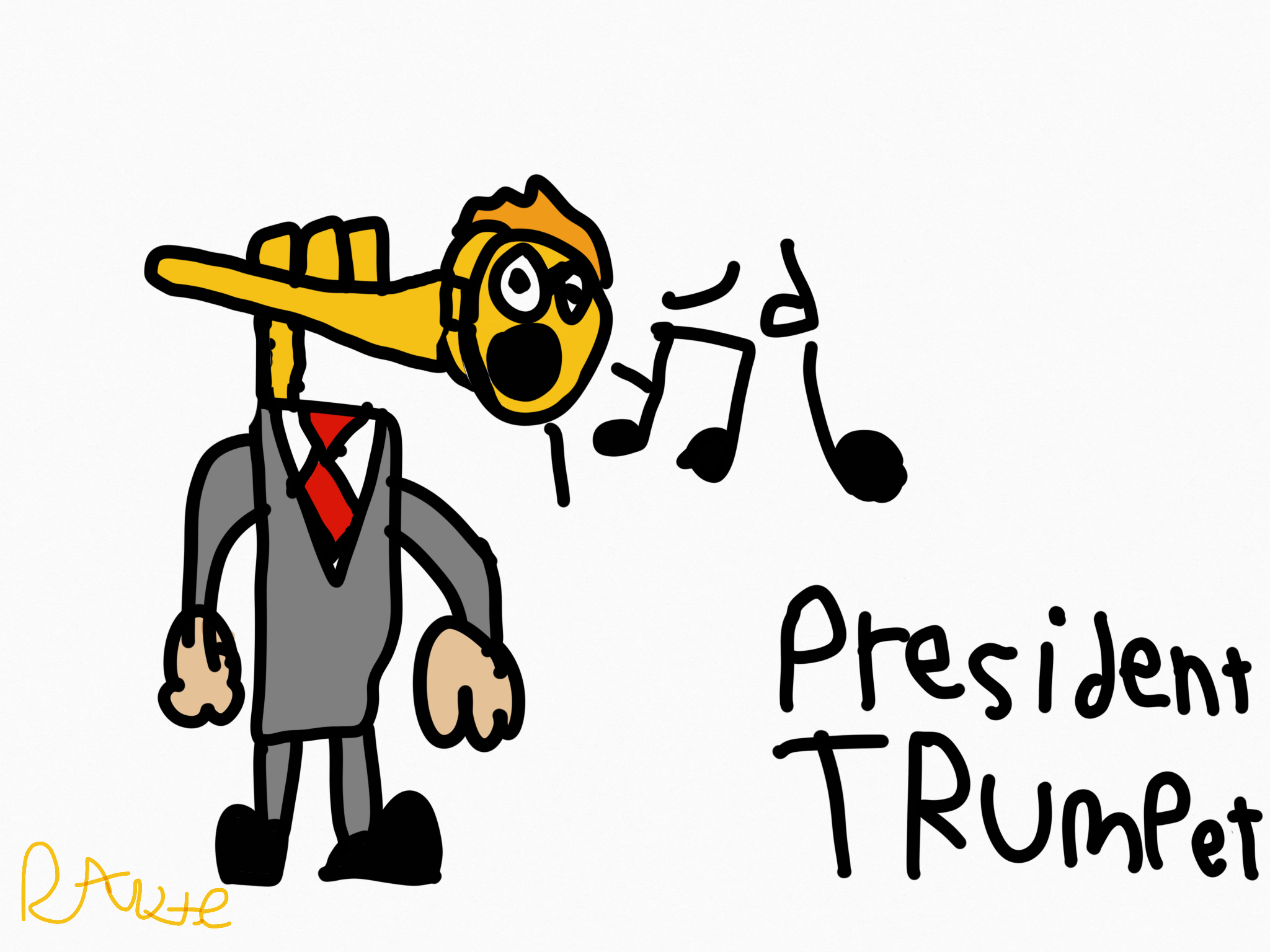 2048x1536 My Drawing Of The President On My Ipad Introducing President
