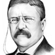 180x180 President Theodore Roosevelt Drawing