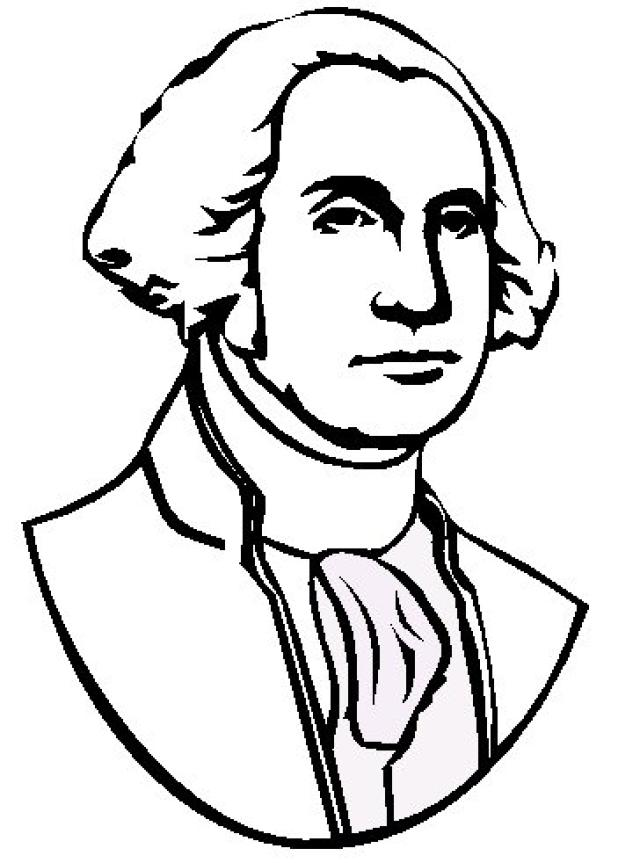640x863 President Drawing King George For Free Download