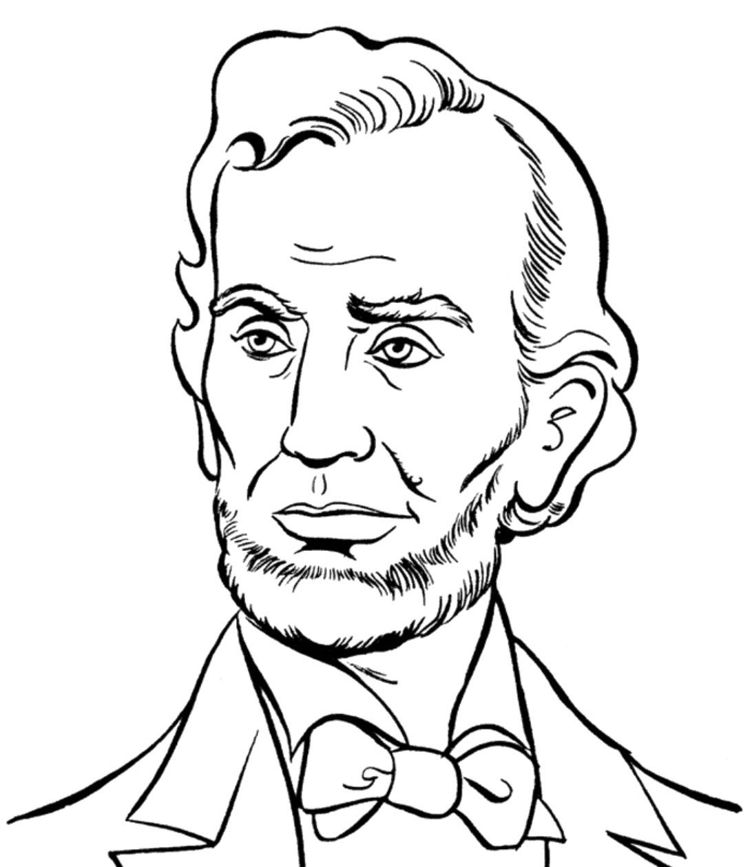 1092x1259 abraham lincoln drawing for kids and abraham lincoln presidents