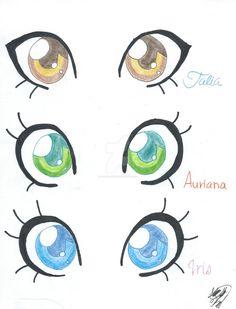 Pretty Eye Drawings
