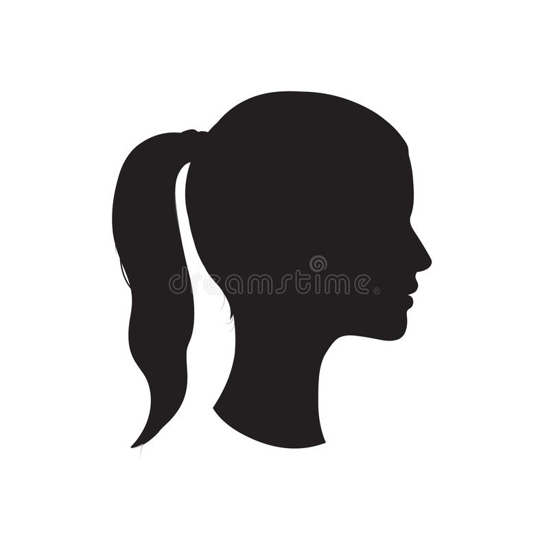 800x800 Silhouette Face Drawing