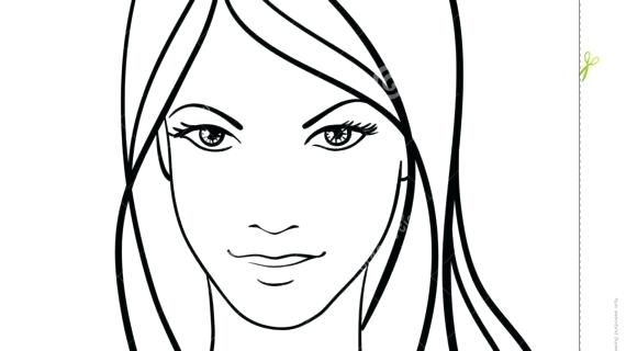 570x320 Simple Drawing Face Simple Face Drawing Cartoon