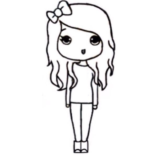 Pretty Lady Drawing