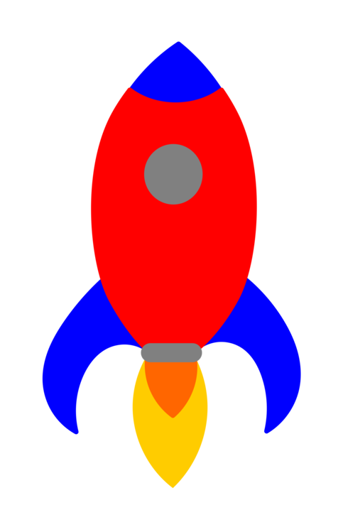 483x749 Computer Icons Line Art Rocket Primary Color Drawing Cc0