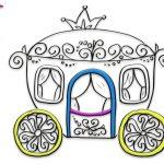 Princess Carriage Drawing