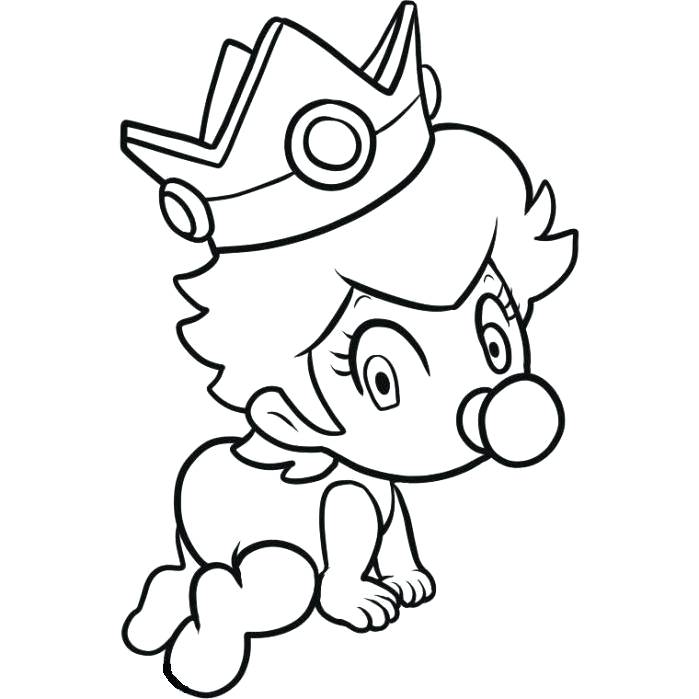 Princess Daisy Drawing | Free download on ClipArtMag