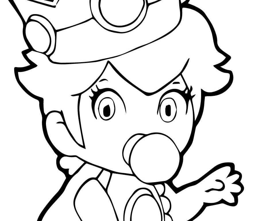 919x768 Chibi Princess Daisy Awesome Acceptable Baby Princess Peach