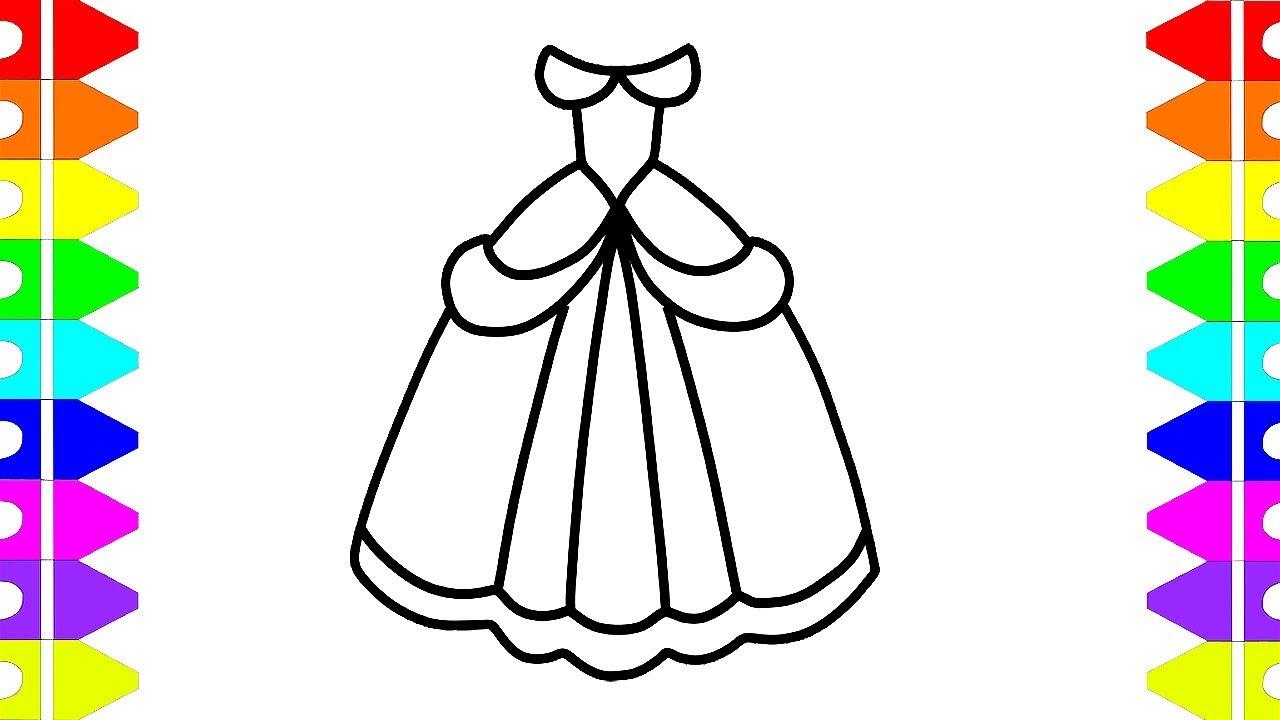 Princess Dress Drawing | Free download best Princess Dress Drawing
