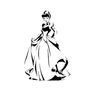 Princess Dress Drawing | Free download on ClipArtMag