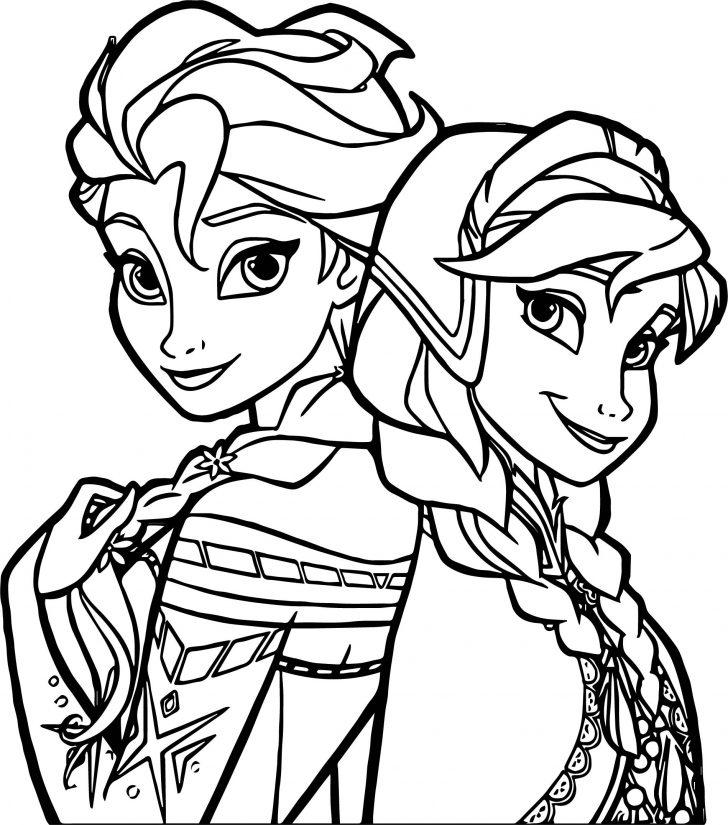 princess elsa drawing free on clipartmag