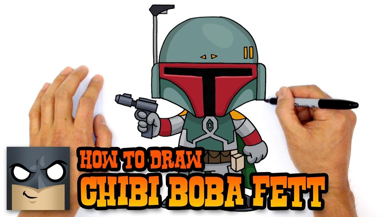 1280x720 How To Draw Star Wars Boba Fett