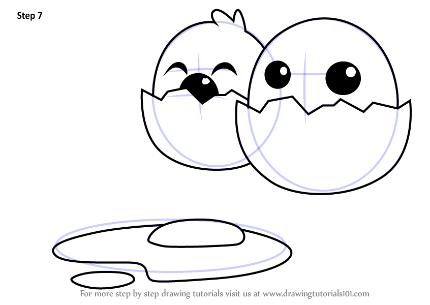 846x600 Learn How To Draw Funny Cartoon Egg