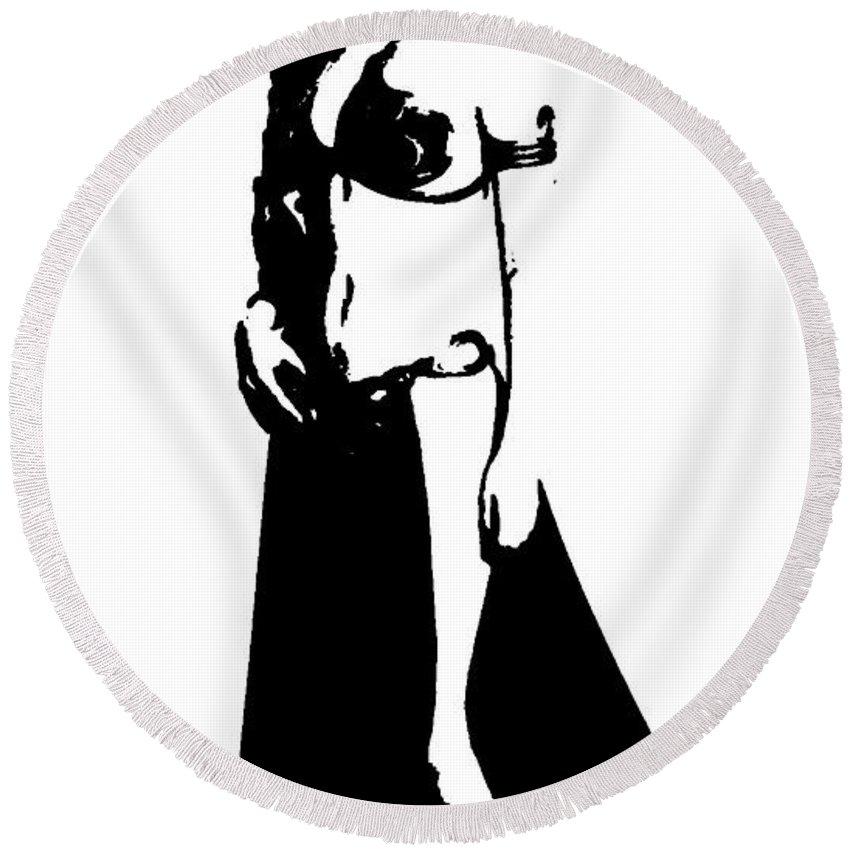 850x850 Princess Leia Round Beach Towel For Sale
