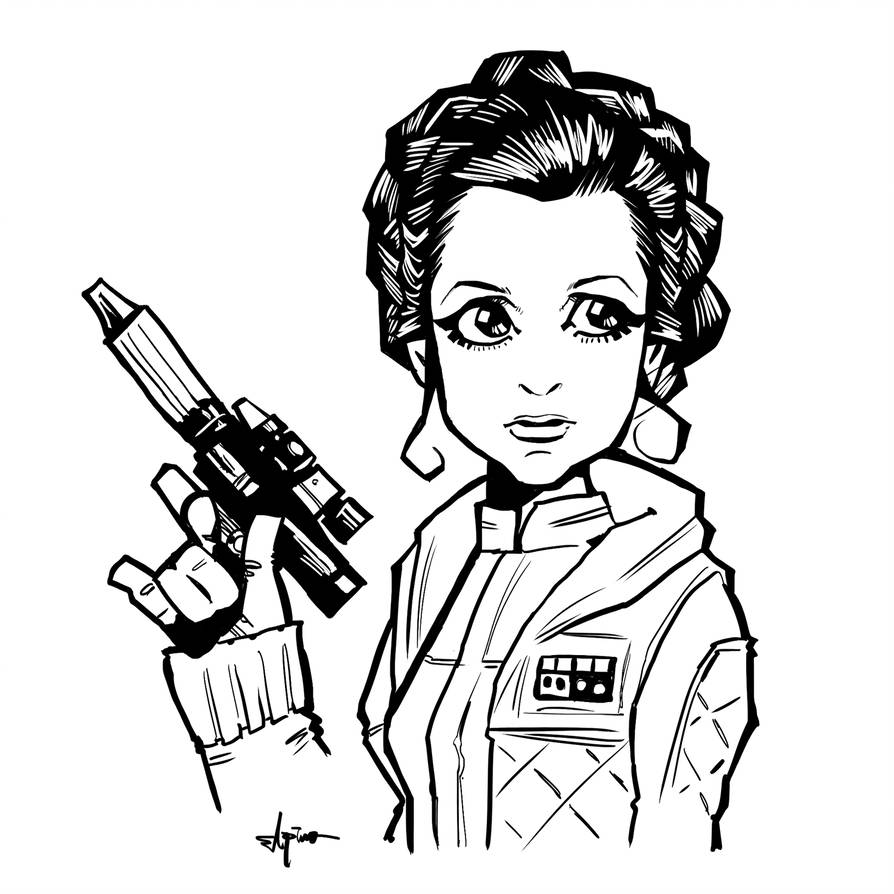 894x894 Princess Leia