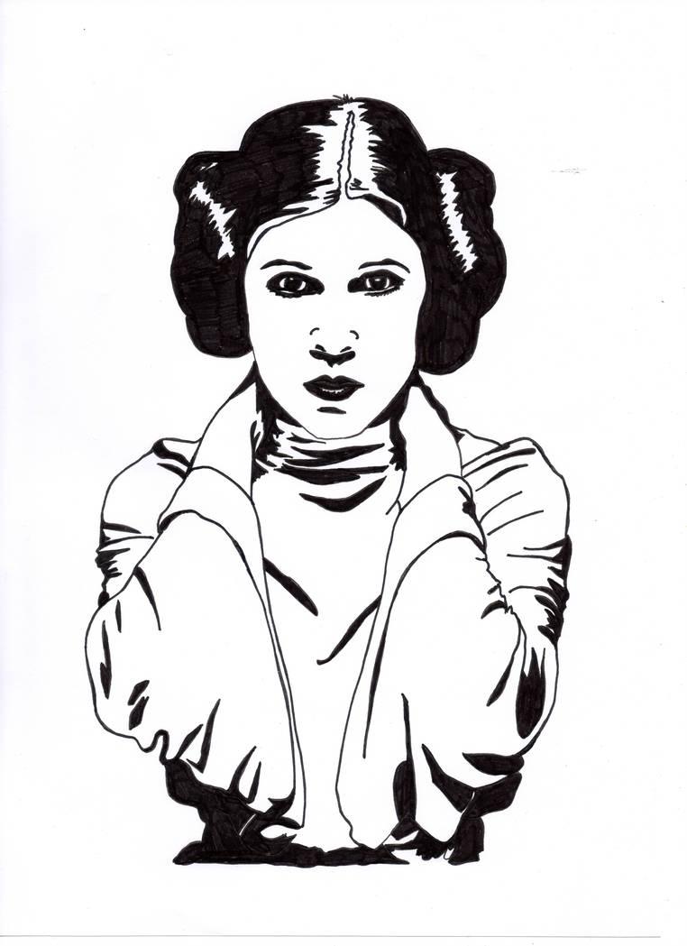 762x1049 Princess Leia