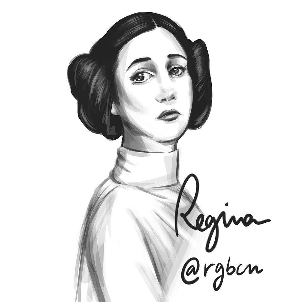 1024x1024 Regina On Twitter Princess Leia