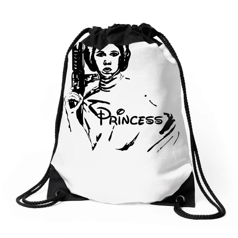 800x800 custom princess leia theme park drawstring bags