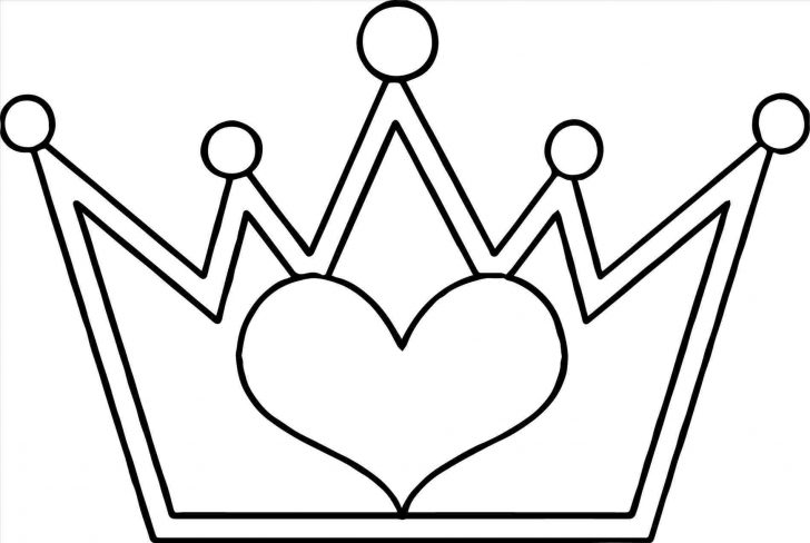 728x488 Crown Drawing Png Vector Easy Princess Flower
