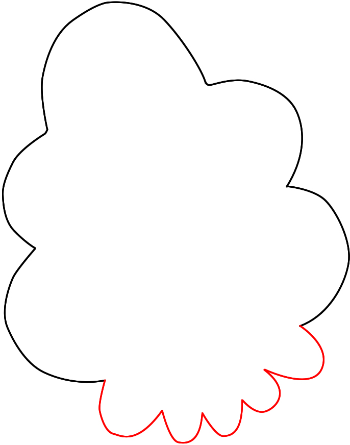 686x872 How To Draw Lumpy Space Princess From Adventure Time