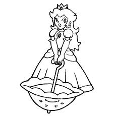 Princess Peach Drawing