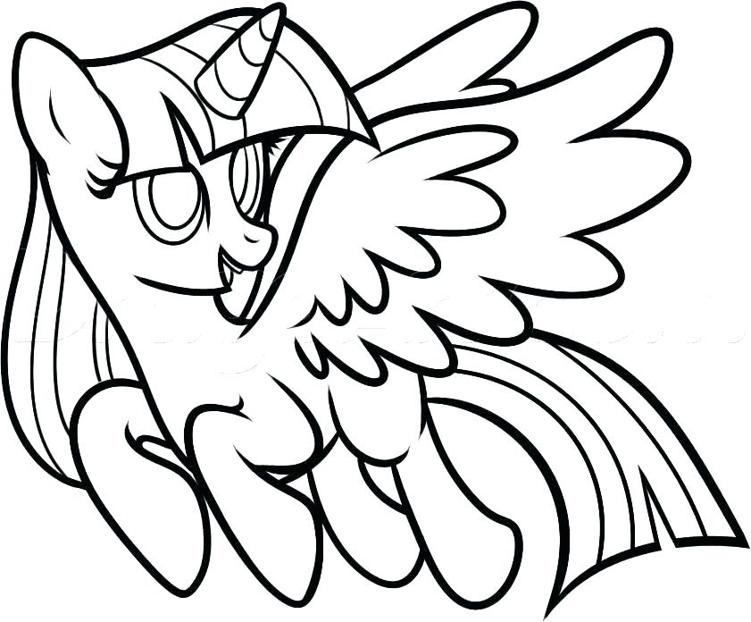 Princess Twilight Sparkle Drawing | Free download on ...