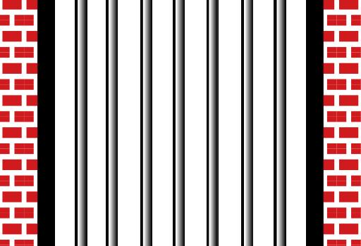 Prison Bars Drawing