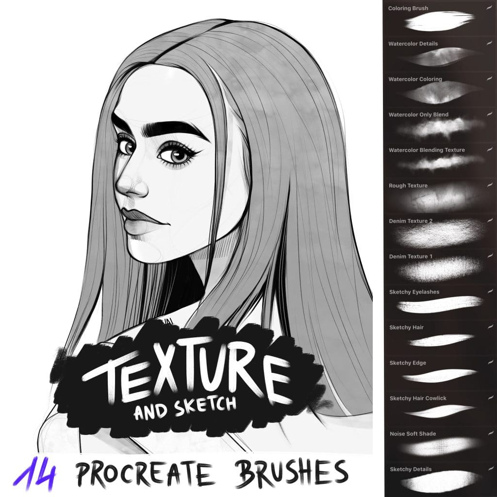 Procreate Drawing Brushes | Free download best Procreate