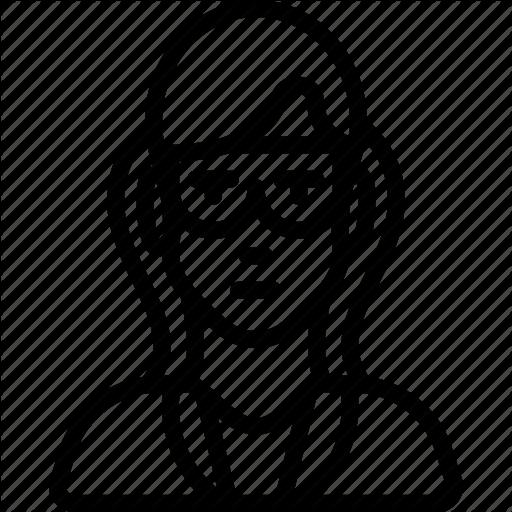 512x512 Avatar, Female, Professional, Professions, Professor, Scientist