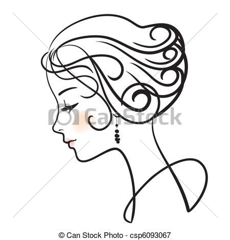 450x470 Image Result For How To Draw Side Profile Woman Artsy Mystical