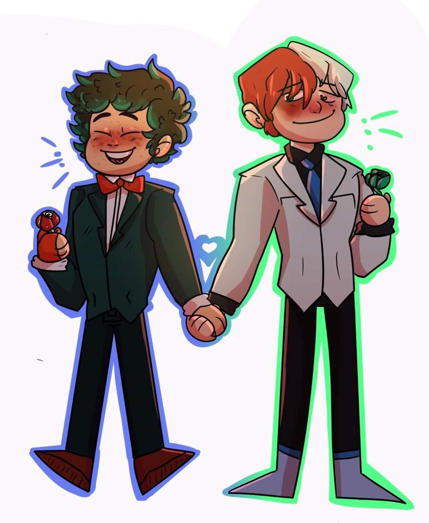 840x1024 Tododeku And Ochadeku Prom Drawings! My Hero Academia Amino