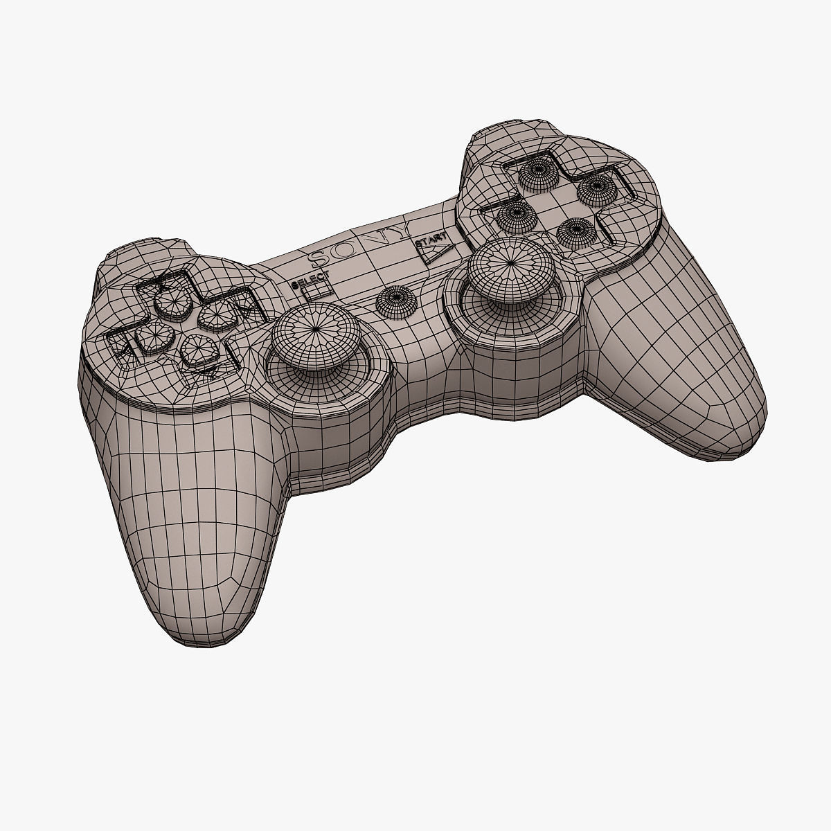 Ps3 Controller Drawing