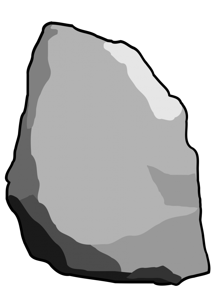 700x990 Rock Drawing Png Vector, Clipart
