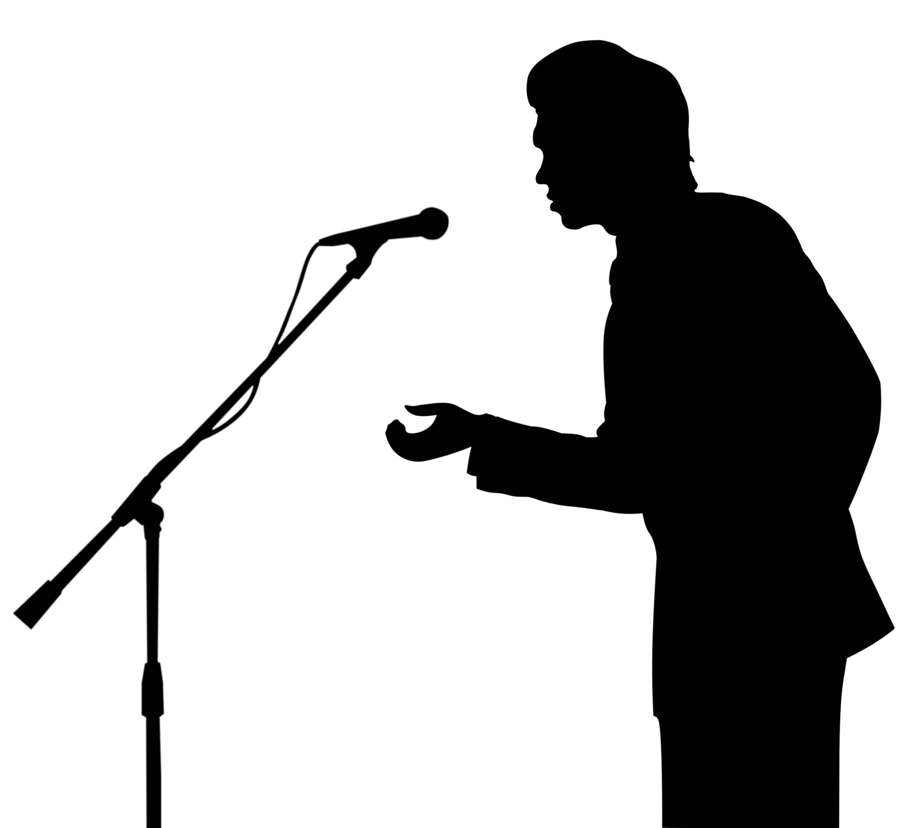 Public Speaking Drawing