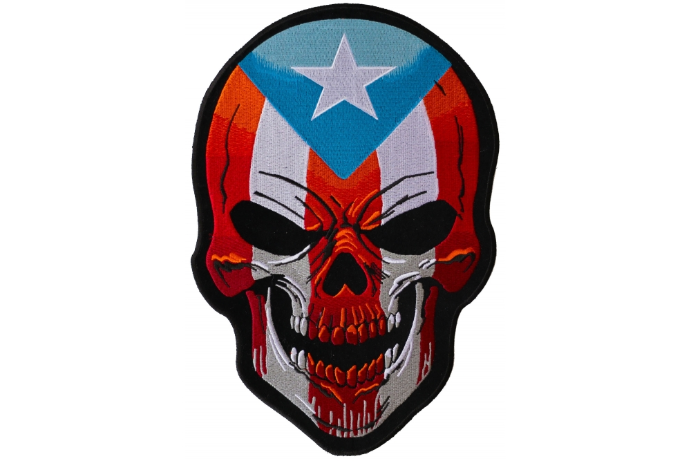 1000x667 puerto rican skull large back patch skull patches thecheapplace