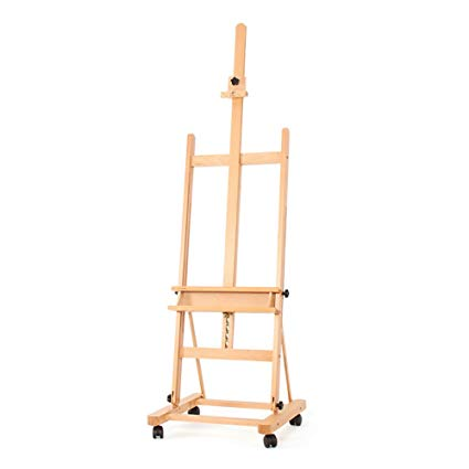 425x425 easels rotation with pulley beech wood sketchpad