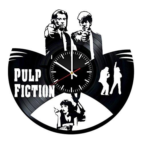 500x500 Pulp Fiction Vinyl Records Wall Clock