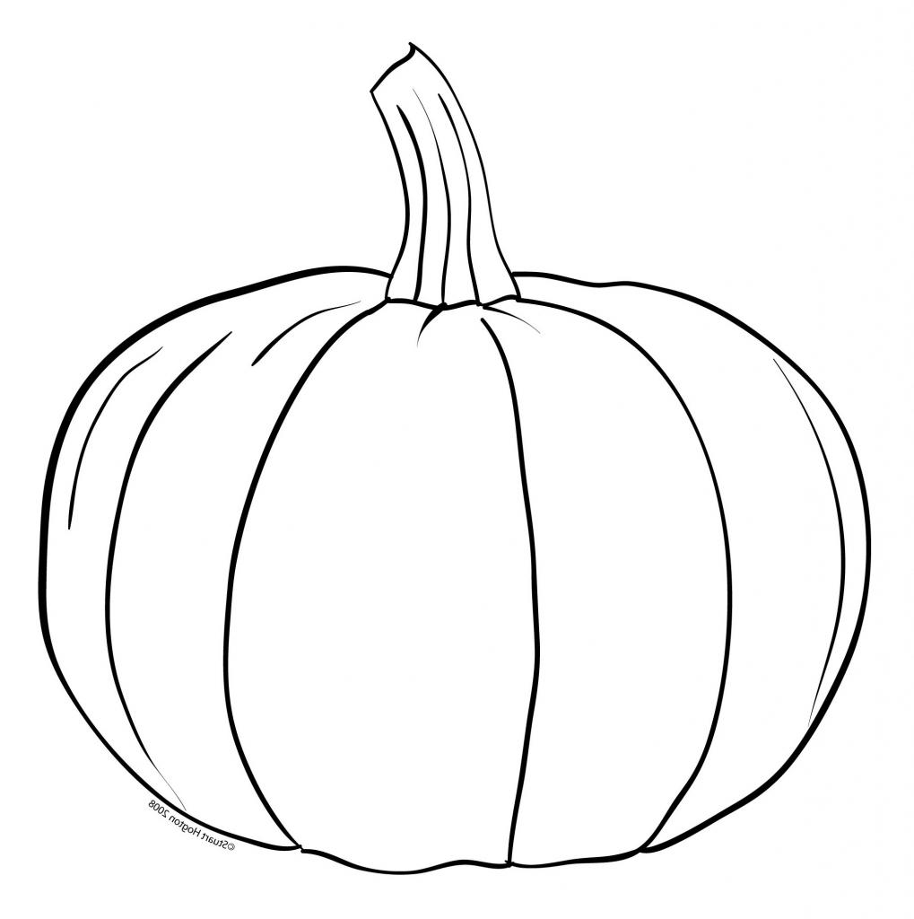Pumpkin Drawing Easy