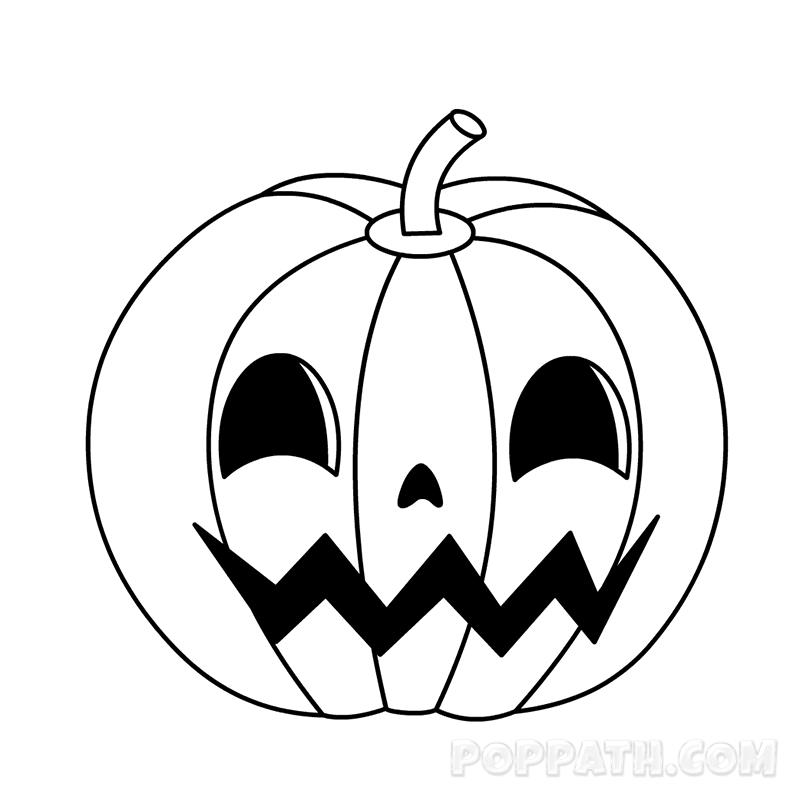 Halloween Pumpkin Drawing Picture.Pumpkin Drawing Halloween Free Download Best Pumpkin Drawing