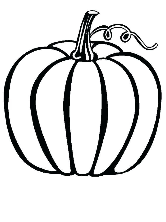Pumpkin Drawing Pages