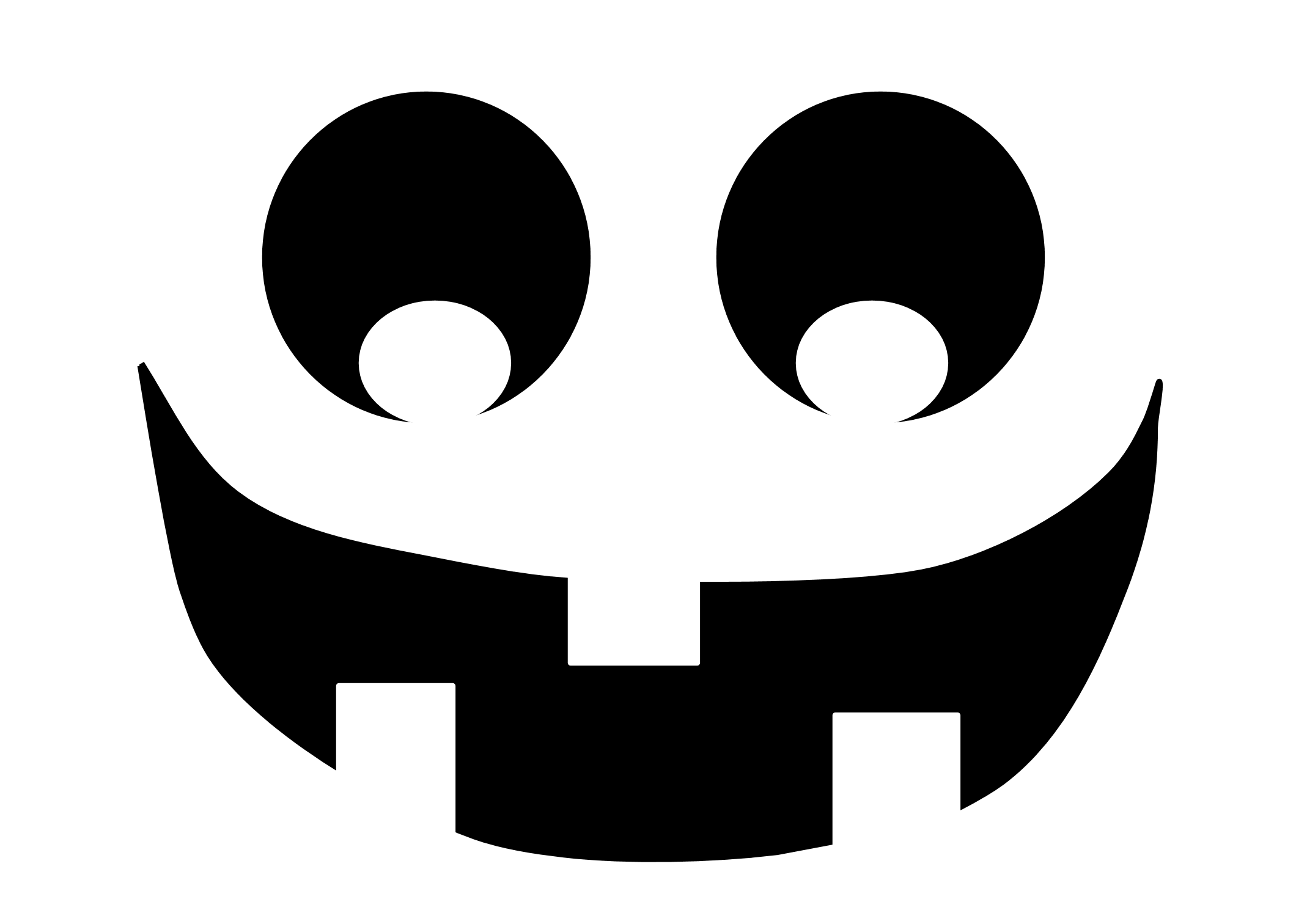 It is an image of Pumpkin Template Printable Free with regard to scary
