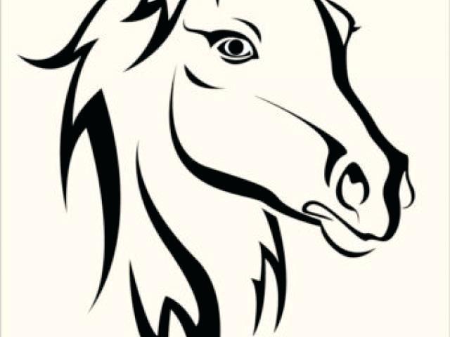 640x480 printable horse stencils free printable horse pumpkin stencils