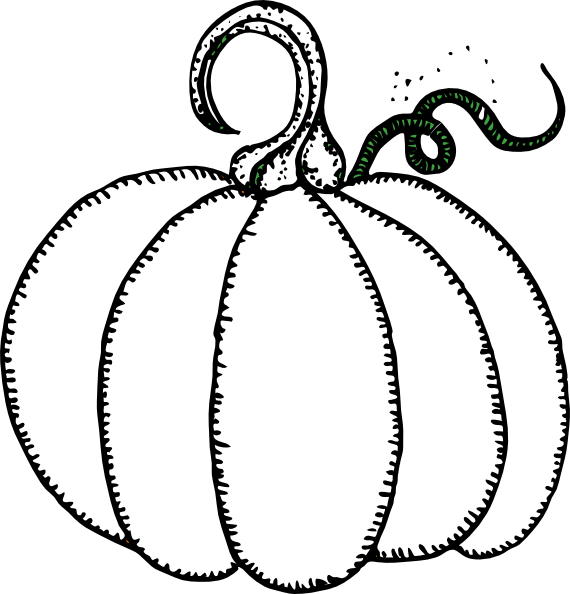 570x594 Pumpkin Halloween Or Thanksgiving Coloring Pages Coloring